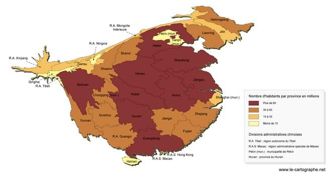 Chine Les Disparités Régionales De Lespace Chinois