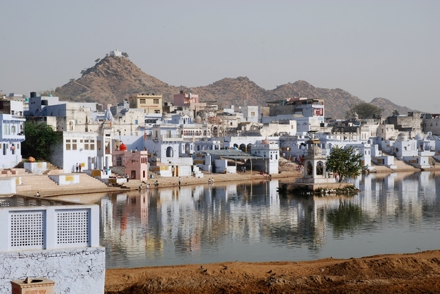 Photo - Les ghâts restant de Pushkar