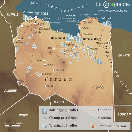 Carte Algerie Libye.Libye Important Fournisseur De Petrole Pour L Europe