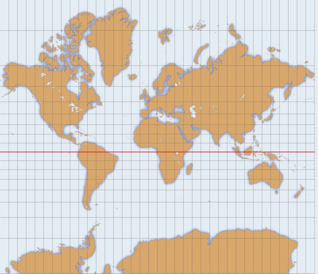 Projection Mercator
