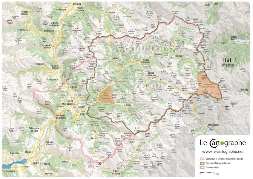 Cartographe et g omaticien ind pendant - Office du tourisme molines en queyras ...